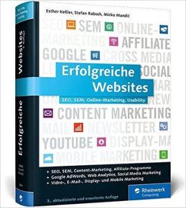 Knjiga - Erfolgreiche Websites, SEO, SEM, Online-Marketing, Usability