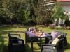 Vrtna garnitura rattan Corfu Fiesta smeđa 223216 KETER