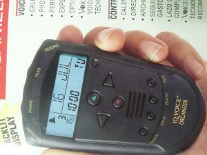 IQ-VOICE Organizer snimac zvuka 512KB/15 min
