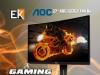 MONITOR  gaming 27 AOC C27G1  144 Hz
