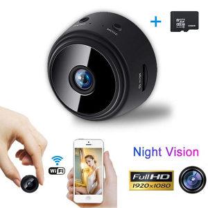 ŠPIJUNSKA kamera WiFi magnetna HD auto kamere