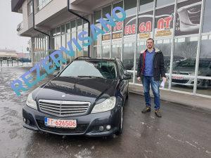 Mercedes C220 CDI 125kW 2012 godište BluEFF Facelift