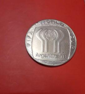 Medalja II FIFA SP 1978. Argentina