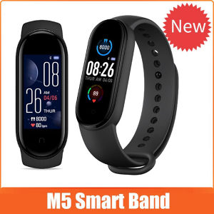 M5 smartwatch pametni sat  oksimetar puls tlakomjer