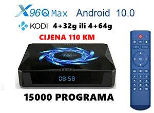 AKCIJA - Android  Box 10, X96Q Max 4+32 gige - Kodi