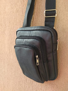 Torba torbica za pistolj oruzje prava koza