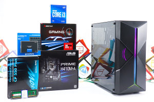Gaming PC Cavy; i3-10100F; RX 560; 120GB SSD; 8GB DDR4