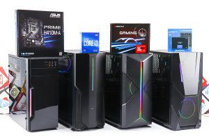 Gaming PC i3-10100F; RX 560; 120GB SSD; 8GB DDR4