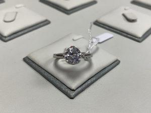 Zenski prsten zarucnicki srebro 925