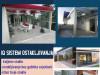 Zastakljivanje, klizni sistemi, ostakljivanje balkona
