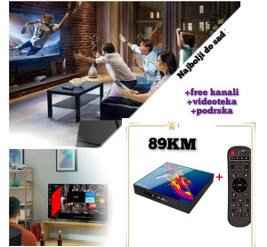 Android tv box 2021 akcija gratis podesavanje