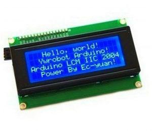 LCD DISPLAY Blue I2C TWI 2004 20X4 Character LCD Modul