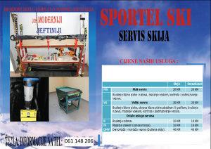 Skije, ski servis, servis skija