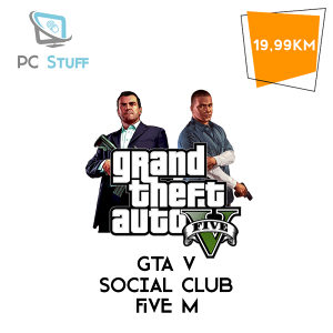 GTA 5 Social Club racun Five M