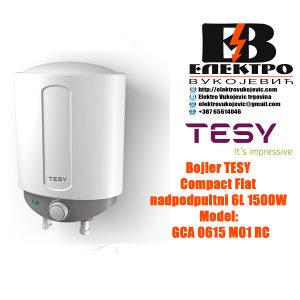 Bojler Tesy Compact flat nadpultni 6L 1500W