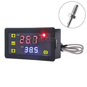 Termostat digitalni -60 do +500 12V/220V K Type senzor