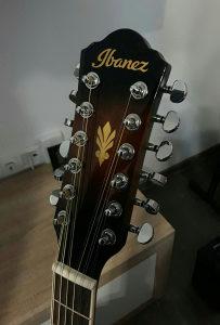 Gitara IBANEZ, 12 strings, stalak i futrola
