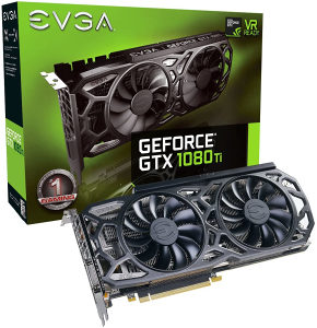 Nvidia GTX 1080Ti 1080 Ti EVGA SC Black