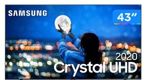 "Samsung 4K 43"" TU7172 Crystal UHD EU TV UE43TU7172UXXH"
