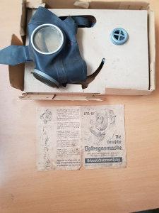 WW2 Njemačka gas maska