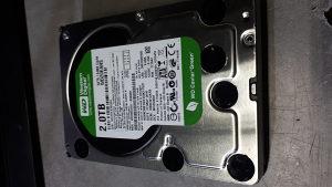 Hard disk 2TB SATA 3.0Gb/s WD Green