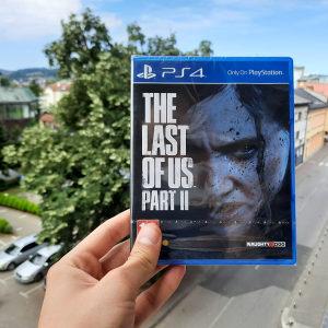 Last of us 2 II PS4 Playstation 4 NOVO
