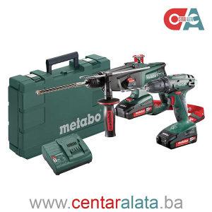 Metabo Combo Set 18V BS 18 + KHA 18 LTX