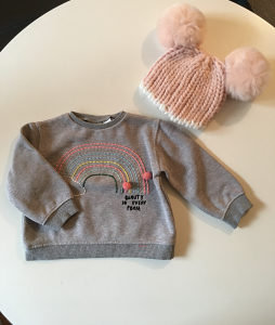 Odjeca za bebe ZARA 9-12 mj.