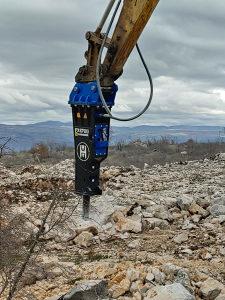 Hidraulični čekić pikamer Hammer FX1700
