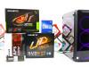 Gaming PC Aquarius 18; i3-10100F; GTX 1050Ti; 120GB SSD