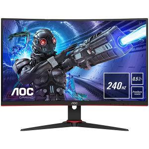 """AOC Monitor C27G2ZE/BK Gaming 0.5ms 27"""" 240Hz"""