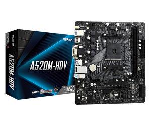 A520M-HDV/ ASROCK/ AMD AM4 Socket Ryzen