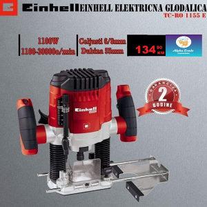 Einhell električna glodalica TC-RO 1155 E