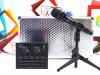 Desktop mikrofon enCORE E300 sa zvučnom karticom V8