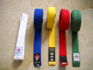 Karate pojas - lot 3 komada