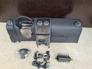 Komplet airbag tabla Nissan Qashqai J10 2010-2014 god v