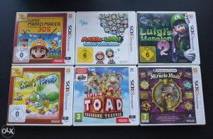 Igre za Nintendo 3DS (2DS)