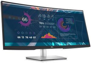 """Dell Monitor LED P3421W 34.14"""" Curved 3440x1440 WQHD I"""