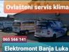 Ovlašteni servis klima 065 566 141 B.Luka Elektromont