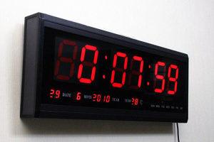Sat DIGITALNI LED Veliki (D48xV19)cm