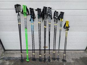 Ski stapovi za skijanje carbon 120cm 125cm 130cm