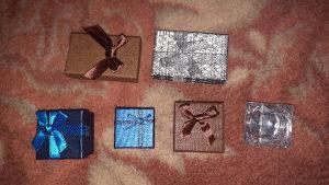 Kutija za nakit prsten narukvica kutijica