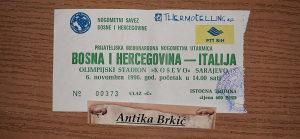 BIH-ITALIJA 1996 GOD