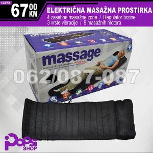 Masažna prostirka - 9 masažnih motora