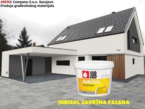 JUBIZOL akrilna zavrsna fasada / BIJELA