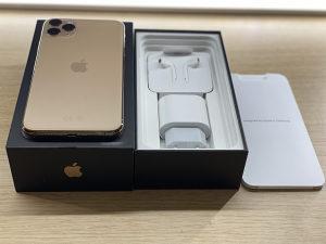 Iphone 11 pro max 256gb gold 10/10
