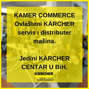 Karcher ovlašteni servis i distributer mašina kamer.ba