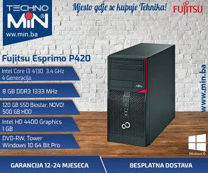 Fujitsu P420, I3 4130 3.4/8/120SSD500/DVD-RW/Tower