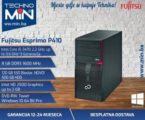 Fujitsu P410, I5 3470 2.2/8/120SSD500/DVD-RW/Tower