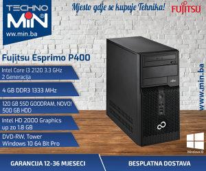 Fujitsu P400, i3 2120 3.3/4/120SSD500/DVD-RW/Tower
